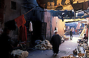 The dying souk, Marrakesh, Morocco
