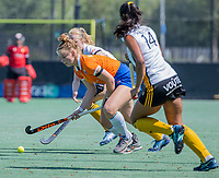 BLOEMENDAAL   -  Pien Molenaar (Bldaal) , oefenwedstrijd dames Bloemendaal-Victoria, te voorbereiding seizoen 2020-2021.   COPYRIGHT KOEN SUYK