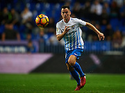 "MALAGA, SPAIN - DECEMBER 09:  Juan Pablo Anor ""Juanpi"" of Malaga CF looks on during La Liga match between Malaga CF and Granada CF at La Rosaleda Stadium December 9, 2016 in Malaga, Spain.  (Photo by Aitor Alcalde Colomer/Getty Images)"