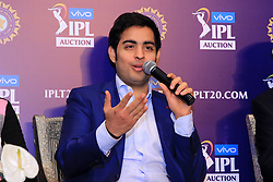 December 18, 2018 - Jaipur, Rajasthan, India - Mumbai Indians owner Akash Ambani  speak at a press conference for the Indian Premier League 2019 auction in Jaipur on December 18, 2018, as teams prepare their player rosters ahead of the upcoming Twenty20 cricket tournament next year. The 2019 edition of the IPL -- one of the world's most-watched sporting events attracting the world's top stars -- is set to take place in April and May next year.(Photo By Vishal Bhatnagar/NurPhoto) (Credit Image: © Vishal Bhatnagar/NurPhoto via ZUMA Press)