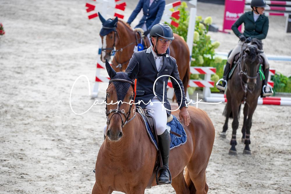 Veldhuis Steven, NED, Inferno<br /> KWPN Kampioenschappen - Ermelo 2018<br /> © Hippo Foto - Dirk Caremans<br /> 14/08/2018