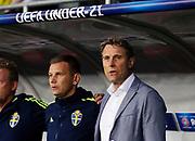 LUBLIN, POLAND - 2017-06-22: H&aring;kan Ericson under UEFA U21 matchen mellan Slovakien och Sverige p&aring;  Arena Lublin den 22 juni, 2017 i Lublin, Polen. <br /> Foto: Nils Petter Nilsson/Ombrello<br /> Fri anv&auml;ndning f&ouml;r kunder som k&ouml;pt U21-paketet.<br /> Annars Betalbild.<br /> ***BETALBILD***
