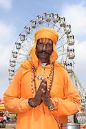 Indian Sadhu holy man at Pushkar Fair