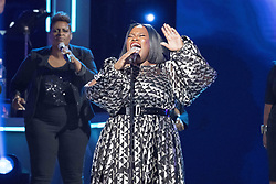 August 6, 2017 - New Jersey, U.S - TASHA COBBS LEONARD performing at the 2017 Black Girls Rock awards show. Black Girls Rock 2017 was held at the New Jersey Performing Arts Center in Newark New Jersey. (Credit Image: © Ricky Fitchett via ZUMA Wire)