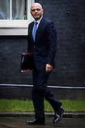 UNITED KINGDOM, London: 1 March 2016. Secretary of State for Business, Innovation and Skills Said Javid arrives in Downing Street to attend Cabinet meeting in central London.  Pic by Andrew Cowie / Story Picture Agency
