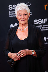 September 25, 2018 - San Sebastian, Spain - Actress Judi Dench attends 'Red Joan' premiere during the 66th San Sebastian International Film Festival at Kursaal Palace on September 25, 2018 in San Sebastian, Spain. (Credit Image: © Manuel Romano/NurPhoto/ZUMA Press)