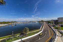 March 8, 2019 - St. Petersburg, Florida, U.S. - SEBASTIEN BOURDAIS (18) of France goes through the turns during practice for the Firestone Grand Prix of St. Petersburg at Temporary Waterfront Street Course in St. Petersburg, Florida. (Credit Image: © Walter G Arce Sr Asp Inc/ASP)