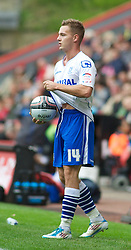 LONDON, ENGLAND - Saturday, October 8, 2011: Tranmere Rovers' Adam McGurk during the Football League One match at The Valley. (Pic by Gareth Davies/Propaganda)