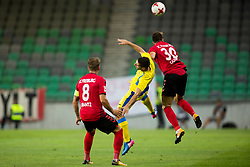 during 2nd Leg football match between NK Domzale and FC Freiburg in 3rd Qualifying Round of UEFA Europa League 2017/18, on August 3rd, 2017 in SRC Stozice, Ljubljana, Slovenia. Photo by Urban Urbanc / Sportida