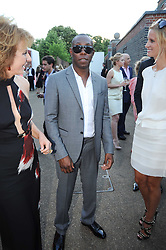 DIZZEE RASCAL at the annual Serpentine Gallery Summer party this year sponsored by Jaguar held at the Serpentine Gallery, Kensington Gardens, London on 8th July 2010.  2010 marks the 40th anniversary of the Serpentine Gallery and the 10th Pavilion.