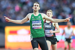 22.07.2017, Olympia Stadion, London, GBR, Leichtathletik WM der Behinderten, im Bild Weltmeister 1500m (T37): Michael McKillop (IRL) // Michael McKillop (IRL, T37) // during the World Para Athletics Championships at the Olympia Stadion in London, Great Britain on 2017/07/22. EXPA Pictures © 2017, PhotoCredit: EXPA/ Eibner-Pressefoto/ Eibner-Pressefoto<br /> <br /> *****ATTENTION - OUT of GER*****