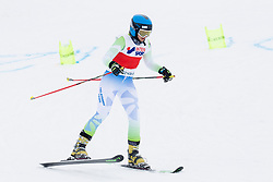 Katarina Malensek of Slovenia during FIS World Cup Telemark Krvavec 2018, on February 8, 2018 in RTC Krvavec, Crklje na Gorenjskem, Slovenia. Photo by Urban Urbanc / Sportida