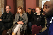 Russell Fredericks at Artist talk of ' Shoot-Out: Lonely Crusade..An Homage to Jamel Shabazz ' held at The George and Leah McKenna African American Museum of Art on December 12, 2008 in New Orleans, Louisana