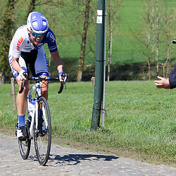 03-04-2016: Wielrennen: Ronde van Vlaanderen vrouwen: Oudenaarde  <br />OUDENAARDE (BEL) cycling  The sixth race in the UCI Womensworldtour is the ronde van Vlaanderen. A race over the famous Flemish climbs.<br />Iris Slappendel