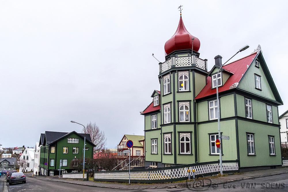 Wandering in the streets of Reykjavik