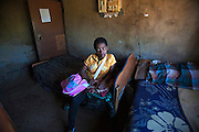 14 year old Sphiwe is the top student in her class winning a scholarship in her school in the Drakensburg Mountains in KwaZulu Natal. She works very hard doing her part towards her future and dream of being a doctor and at home she shares a bedroom with her grandmother. December 2010