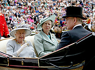 Royals At Ascot Races