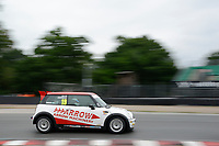 #19 Jacob ANDREWS Mini Cooper  during MINI Challenge - Cooper Pro/AM  as part of the MSVR MINI Festival at Oulton Park, Little Budworth, Cheshire, United Kingdom. July 21 2018. World Copyright Peter Taylor/PSP. Copy of publication required for printed pictures.