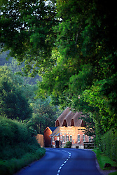 UK ENGLAND WILTSHIRE 26JUN08 - Thatched roof house near Dunsford Mill by the river Kennet near Stichcoombe in rural Wiltshire, western England...jre/Photo by Jiri Rezac / WWF UK..© Jiri Rezac 2008..Contact: +44 (0) 7050 110 417.Mobile:  +44 (0) 7801 337 683.Office:  +44 (0) 20 8968 9635..Email:   jiri@jirirezac.com.Web:     www.jirirezac.com..© All images Jiri Rezac 2008 - All rights reserved.