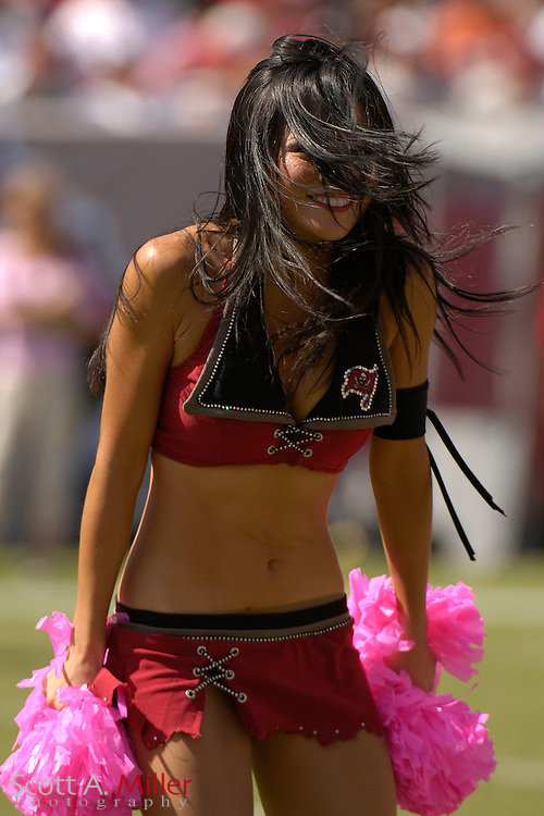 Oct. 14, 2007; Tampa, FL, USA; Tampa Bay Buccaneers cheerleader Tomoko Kojima of Japan during the Bucs game against the Tennessee Titans at Raymond James Stadium. ...©2007 Scott A. Miller