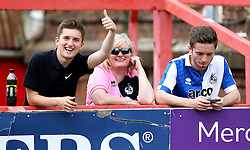 Bristol Rovers fans at the Preseason friendly against Exeter City ahead of the Sky Bet League One Season  - Mandatory by-line: Robbie Stephenson/JMP - 16/07/2016 - FOOTBALL - St James Park - Exeter, England - Exeter City v Bristol Rovers - Pre-season friendly