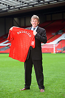 Kenny Dalglish Caretaker Manager at todays Press Conference 10/01/11<br />