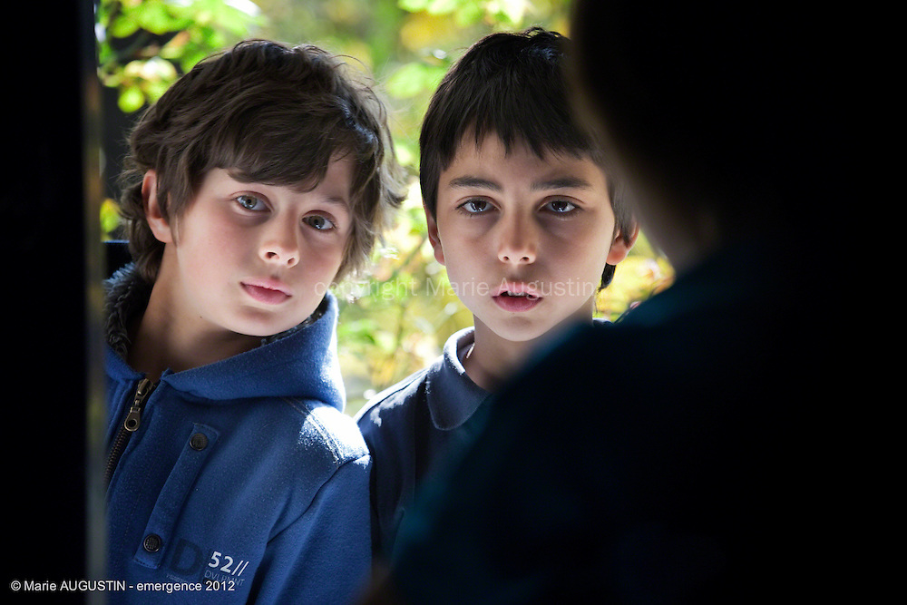 """Max CLAVELLY et Sacha SOARES - tournage scène libre """"Terre-Battue"""" de Stéphane DEMOUSTIER - emergence 2012"""