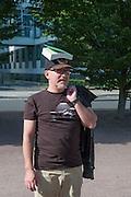 AZAMAT ISEBOEV ( MOSCOW ) , ART TOUR, 18Documenta ( 13 ), Kassel, Germany. 14 September 2012.