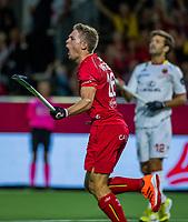 ANTWERP - BELFIUS EUROHOCKEY Championship  . Victor Wegnez (Belgie) scored. Belgium v Spain (men) (5-0). WSP/ KOEN SUYK