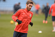 Coventry City Midfielder Romain Vincelot during the Sky Bet League 1 match between Coventry City and Bury at the Ricoh Arena, Coventry, England on 13 February 2016. Photo by Dennis Goodwin.