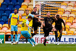 Matt Palmer of Rotherham United shoots at goal - Mandatory by-line: Ryan Crockett/JMP - 28/07/2018 - FOOTBALL - One Call Stadium - Mansfield, England - Mansfield Town v Rotherham United - Pre-season friendly