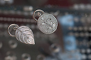 Typical handicrafts of silver filigree.