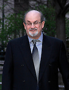 Salman Rushdie attends the Vanity Fair Party celebrating the 2013 Tribeca Film Festival at the State Supreme Courthouse in New York City, New York on April 16, 2013.