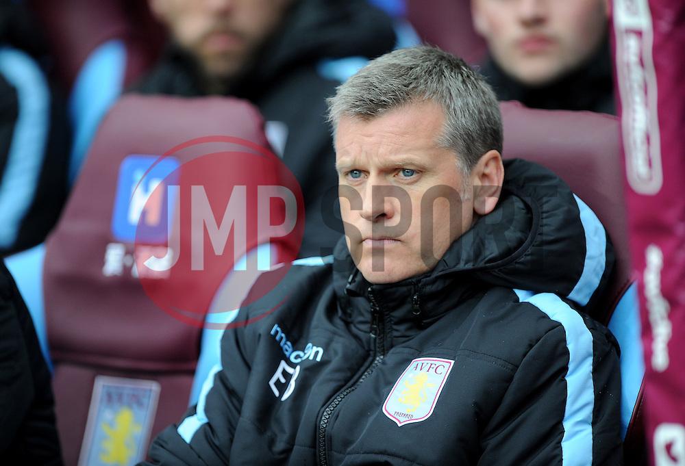 Aston Villa Manager Eric Black - Mandatory by-line: Alex James/JMP - 09/04/2016 - FOOTBALL - Villa Park - Birmingham, England - Aston Villa v AFC Bournemouth - Barclays Premier League