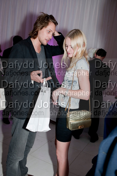 JAMES RUSSO; KATE BOSWORTH; Told, The Art of Story by Simon Aboud. Published by Booth-Clibborn editions. Book launch party, <br /> St Martins Lane Hotel, 45 St Martins Lane, London WC2. 8 June 2009