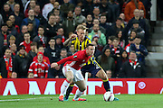 Wayne Rooney Forward of Manchester United during the Europa League match between Manchester United and Fenerbahce at Old Trafford, Manchester, England on 20 October 2016. Photo by Phil Duncan.