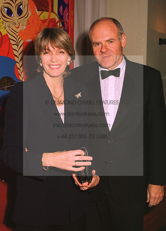 LORD &amp; LADY COLWYN at a party in London on 4th November 1998.<br /> MLO 3