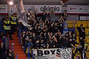 Ultras, Tifosi, Spettatori, Pubblico,Segafredo Virtus Bologna<br />  Happycasa Brindisi - Segafredo Virtus Bologna<br /> Legabasket serieA  2018-2019<br /> Brindisi ,22/12/2018<br /> Foto Ciamillo-Castoria / M.Longo