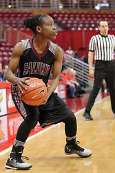 04 January 2015:  Rishonda Napier during an NCAA MVC (Missouri Valley Conference) women's basketball game between the Southern Illinois Salukis and the Illinois Sate Redbirds at Redbird Arena in Normal IL