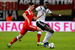 November 16, 2018 - Leipzig, Germany - Antonio Rudiger (R) of Germany and Daler Kuzyaev of Russia vie for the ball during the international friendly match between Germany and Russia on November 15, 2018 at Red Bull Arena in Leipzig, Germany. (Credit Image: © Mike Kireev/NurPhoto via ZUMA Press)