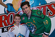 KELOWNA, CANADA - MARCH 17:  Pepsi Player of the Game with Dillon Dube #19 of the Kelowna Rockets at the Kelowna Rockets game on March 17, 2018 at Prospera Place in Kelowna, British Columbia, Canada.  (Photo By Cindy Rogers/Nyasa Photography,  *** Local Caption ***
