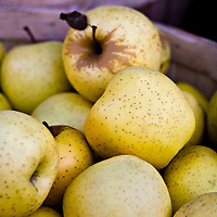 Golden Delicious apples at Toronto's Kensington Market.