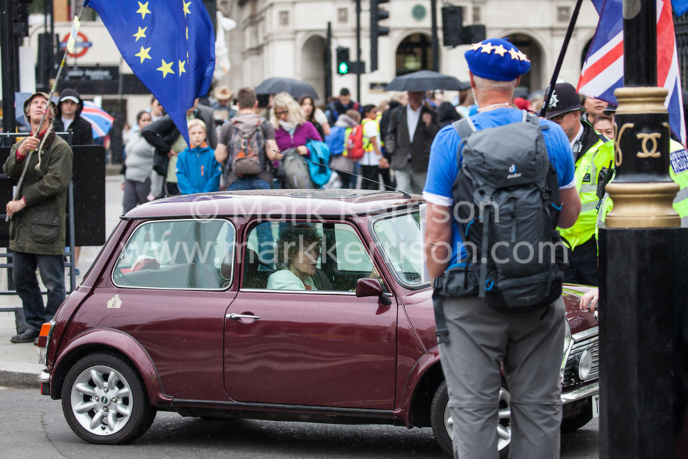 London, UK. 18 June, 2019. Kate Hoey, Labour MP for Vauxhall, arrives at Parliament.