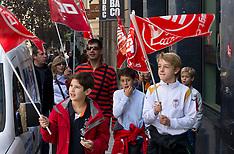 NOV 14 2012 National Strike, Madrid, Spain