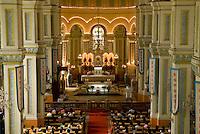 Sunday mass at Tianjin cathedral, China.