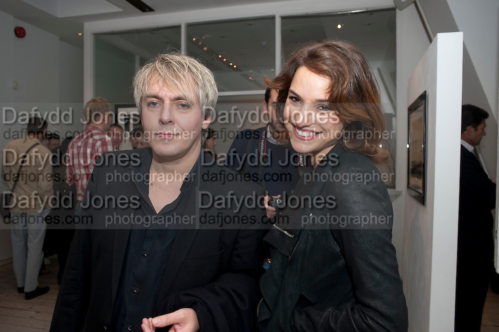 NICK RHODES; MARY-LOUISE STOFFEL, Exhibition of photographs by Ellen von Unworth. Michael Hoppen Gallery. Jubilee Place, Chelsea. London. 22 October 2009.