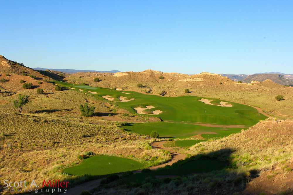 Espanola, N.M.:  July 10, 2006 -  No. 12 on Black Mesa Golf Club in Espanola, N.M...                ©2006 Scott A. Miller