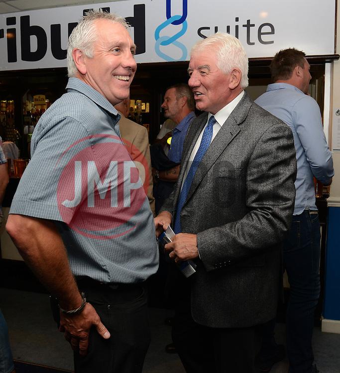 Tom Stanton (right) - Mandatory byline: Dougie Allward/JMP - 07966386802 - 31/07/2015 - FOOTBALL - Memorial Stadium -Bristol,England - Bristol Rovers v West Brom - Phil Kite Testimonial Match