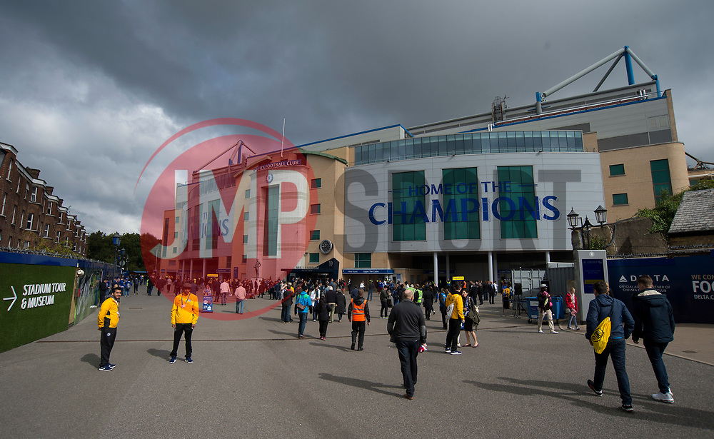 General View outside Stamford Bridge. - Mandatory by-line: Alex James/JMP - 17/09/2017 - FOOTBALL - Stamford Bridge - London, England - Chelsea v Arsenal - Premier League