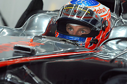 22.10.2010, Korea International Circuit, Yeongam, KOR, F1 Grandprix of Korea, im Bild ..Jenson Button (GBR),  McLaren F1 Team, EXPA Pictures © 2010, PhotoCredit: EXPA/ InsideFoto/ Hasan Bratic *** ATTENTION *** FOR AUSTRIA AND SLOVENIA USE ONLY!